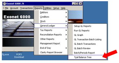 how to prepare a trial balance in myob