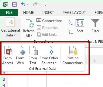 Import Data into Excel Correctly