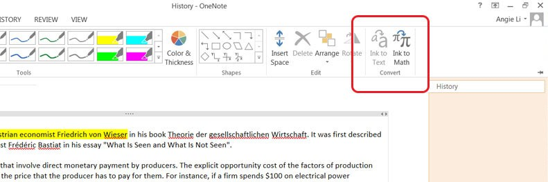 OneNote | Image from Onthehub