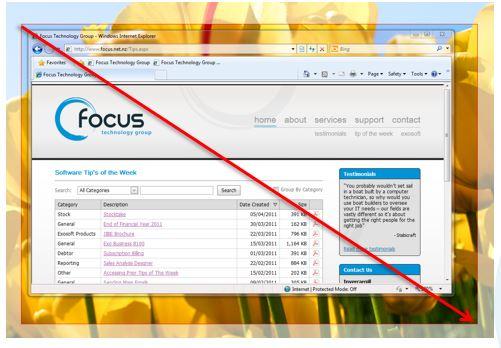 Computer Snipping Tool IT Tip | ERP Software NZ | IT