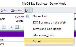 MYOB Exo | End of Financial Year | ERP Software